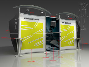 Aluminum Display Panel Stand System (DY-W-005) pictures & photos