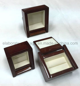 Solid Wooden Lacquer Painting Jewelry Package Box pictures & photos