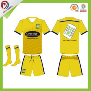 Custom Sublimated Football Soccer Jersey Cheap Sublimation Soccer Jerseys pictures & photos
