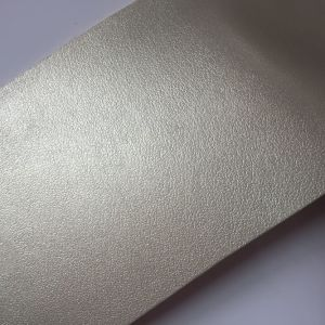 0.7mm Nonwoven Backing Fabric PU Leather for Shoes Lining pictures & photos