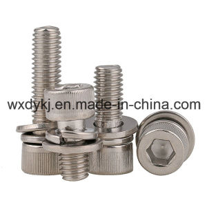 Hexagon Socket Cap Screw and Spring Washer Assemblies pictures & photos