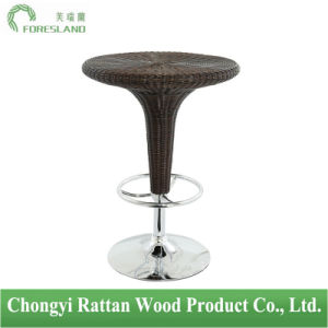 PE Rattan Weaving Bar Table PT-04 pictures & photos