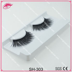 China Wholesale Artificial Mink Eyelash Fake Eyelashes pictures & photos