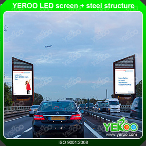 Outdoor Digital Sigange LED Screen Steel Structure Billboard pictures & photos
