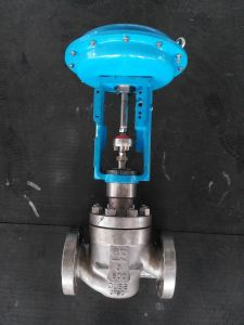 API Certified Pneumatic Single Seat Control Valve 3′′ ANSI 600 pictures & photos