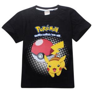 2017 Wholesale Plain Polyester Kids Boys T Shirt (A621) pictures & photos