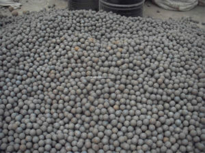 HRC60 B2 Material Forged Grinding Ball 90mm pictures & photos