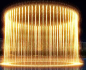 Indoor Water Fountain Music Water Curtain Fountain pictures & photos