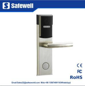 201 stainless Steel Electronic Hotel Door Lock pictures & photos