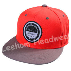 Circle Embroidery Patch Snapback Caps pictures & photos