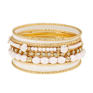 Designer Bohemian White Multilayer Beads Bracelet Bangles Jewelry for Women Spring 2017 Gift Pulseras Mujer Wrist Band pictures & photos
