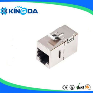 STP Cat5e In-line Coupler, RJ45 Female to RJ45 female pictures & photos