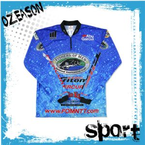 Wholesale Custom Made Your Own Design Sublimation Fishing Clothing pictures & photos
