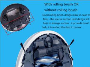 Robot Vacuum Cleaner Battery with 2 Brush pictures & photos