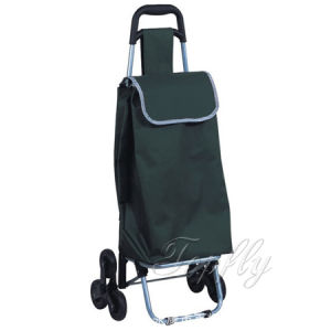 Promotion Supermarket Stair Climbing Cart with 6 Wheels pictures & photos