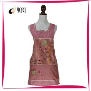 Applique Embroidery Cotton Printing Cooking Kitchen Apron