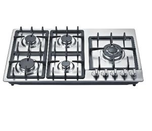 2016 New Model 5 Burner Gas Cooker/Gas Stove/Gas Hob pictures & photos