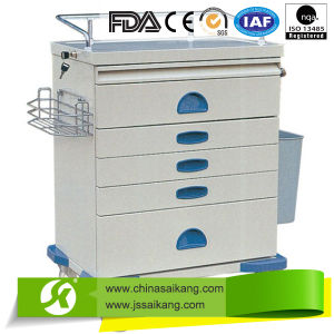 China Wholesale Low Price Customized Transfusion Trolley Drawer pictures & photos