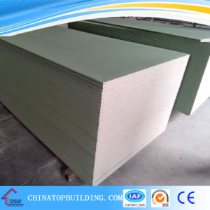 Moistureproof Gypsum Board /Drywall Partition/Ceiling Board pictures & photos