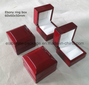 Classics Cherry Piano Glossy Wood Ring Box pictures & photos