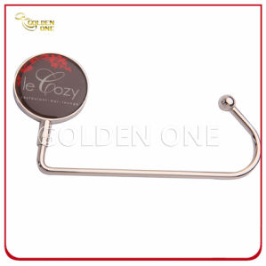 Custom Epoxy Coating Round Shape Metal Bag Holder pictures & photos