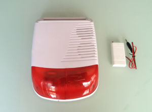 New Product - Wireless Outdoor Strobe Solar Alarm Siren pictures & photos