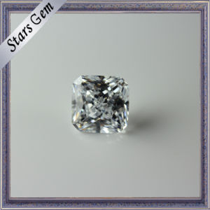 Excellent Princess Cut Clear White CZ Gemstone for Jewellery pictures & photos