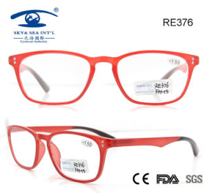 Fashionable Plastic Reading Glasses (RE376) pictures & photos