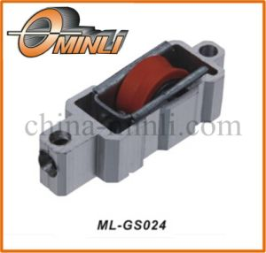 Aluminum Bracket with Plastic Nylon Pulley Roller (ML-GS024) pictures & photos