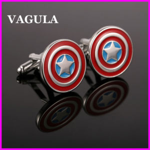VAGULA Quality Enamel Cartoon Cufflinks (HL10136) pictures & photos