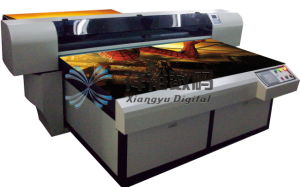 Double Dx7 Printerheads 1.8m Wide Large Format Piezoelectric Eco Solvent Printer