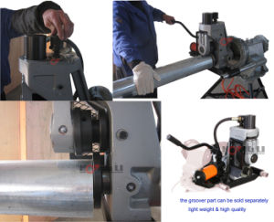 Hydraulic Pipe Grooving Machine for 12 Inch Pipes (YG12A) pictures & photos