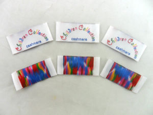 Custom Woven Fabric Labels for Clothing Low Minimum pictures & photos