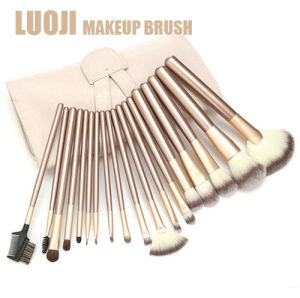 24 PCS Professional Cosmetic Tool Luxury Golden Makeup Brush Set