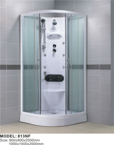 Complete Glass Shower Cabin with ABS Shower Tray pictures & photos