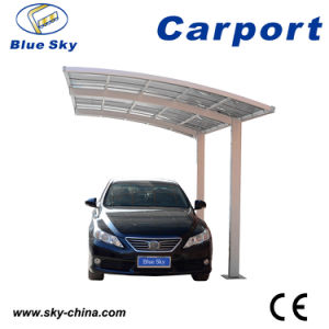Good Quality Steel Structure Polycarbonate Roof Carports for 2 Car Park (B800) pictures & photos
