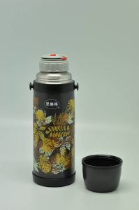 High Quality 304 Stainless Steel Vacuum Flask Svf-1000e Double Wall Vacuum Flask pictures & photos