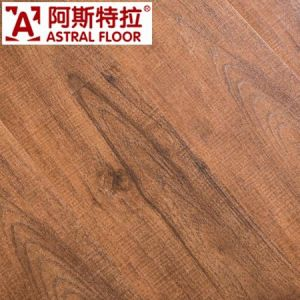 Astral New Style 4 Side U-Groove Laminated Wooden Floor pictures & photos