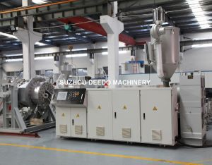 Plastic PPR Pipe Extruder Machinery pictures & photos