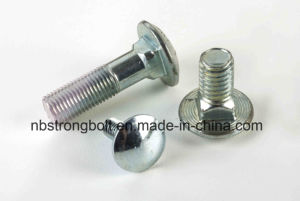 Round Head Square Neck Bolts Carriage Bolts DIN603 Steel with Nuts pictures & photos