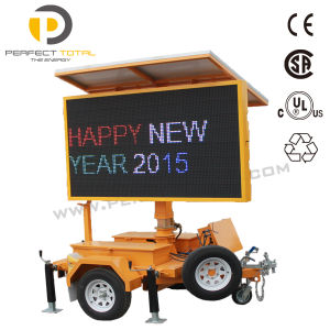 LED Moving Outdoor Traffic Sign pictures & photos