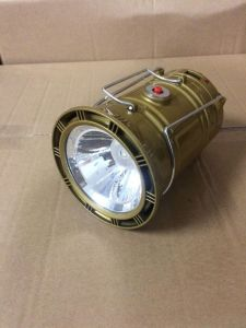 Hot Sell 8 LED Solar Rechargeable Camping Lantern with Torch Function