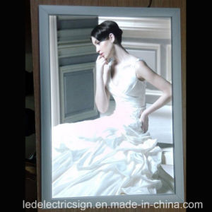 Single Side Ultra Slim Aluminum Frame for Advertising Sign pictures & photos