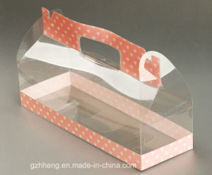 Clear plastic box for bread (food packaging) pictures & photos