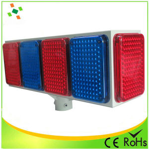Large Solar LED Flash Warning Light/Traffic Light pictures & photos
