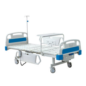 Two Function Electric and Manual Hospital Bed pictures & photos