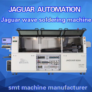 Lead Free Double Wave Soldering Machine with Automatic Flux Spraying pictures & photos