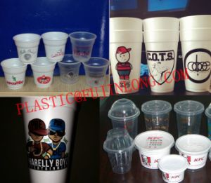 Six Colors Foam Cup Printing Machine pictures & photos