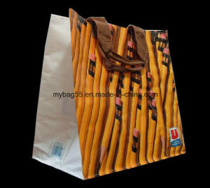 Cmyk Full Color Printing Promotional BOPP Laminated PP Woven Bag pictures & photos