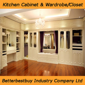 Europe Style Wardrobe with White Color pictures & photos